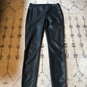 Blank NYC faux leather leggings size 27